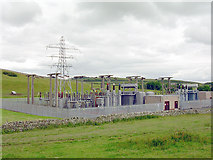 NT4915 : Hawick Grid Substation by David Neale