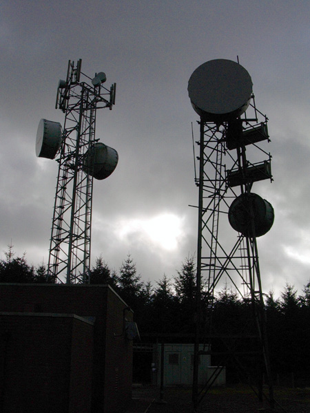 Llangurig Link Radio Towers