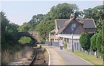 SX4563 : Bere Ferrers Railway Station by Tony Atkin