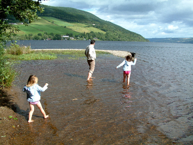 The Rivermouth, Urquhart Bay, Loch Ness