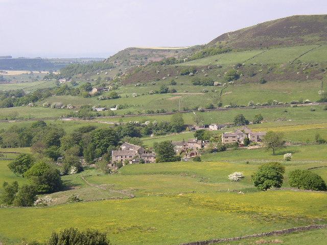 Barnside hamlet, Hepworth