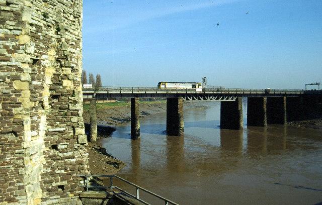 River Usk, Newport by Stephen McKay