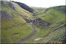 SK1482 : Cavedale - near Castleton by Fiona Avis