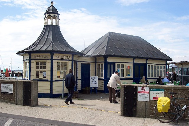 The Halfpenny Pier at Harwich