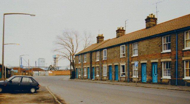 Terraced Houses in Riverside Road, Lowestoft