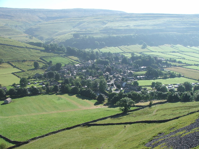 Kettlewell, Wharfedale, Y Dales.