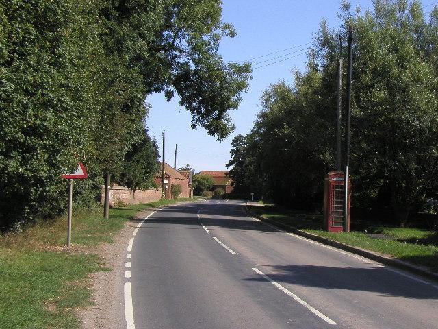 Skeffling main road