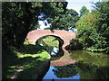 SP1973 : Turnover Bridge, Grand Union Canal, Chessetts Wood by David Stowell