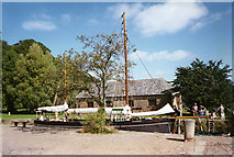 SX4268 : Calstock: Cotehele Quay by Martin Bodman