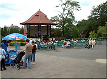 TQ3473 : Bandstand at the Horniman Museum SE23 by Philip Talmage