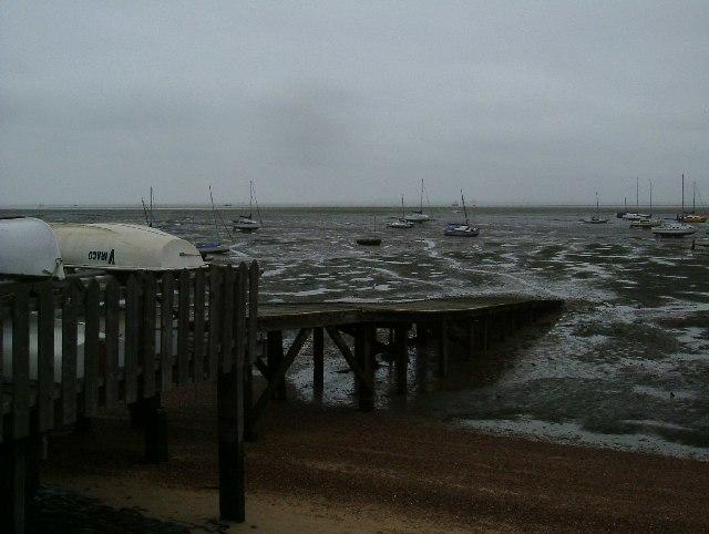 Slipway at Leigh On Sea