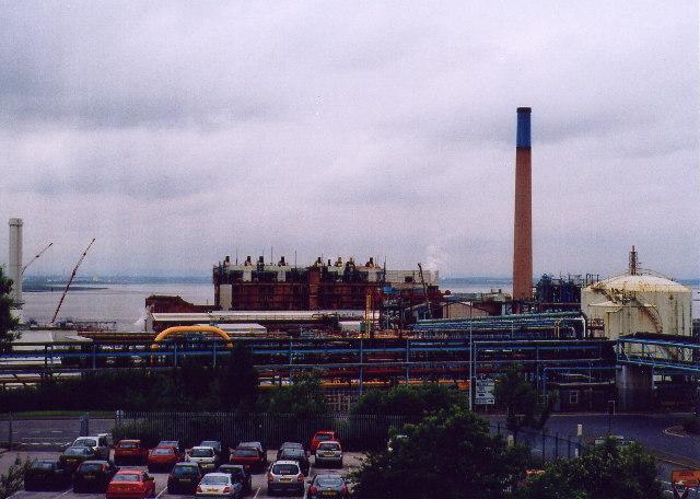 ICI Weston Point Power station