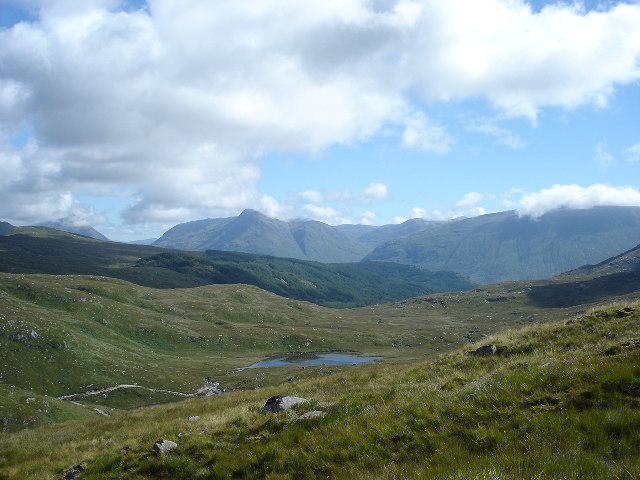 Airigh nan Lochan at the head of Glen Ure