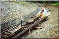 SH4758 : Welsh Highland Railway: near Dinas by Martin Bodman