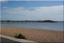 TR3752 : Deal Pier, Kent by Ron Strutt