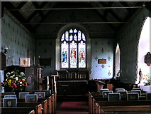 TM4160 : East Window, St Mary Magdalene C of E, Friston, Suffolk by Barry Hughes
