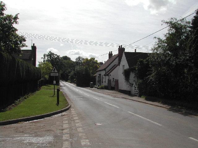 Main Street, Edingley Village