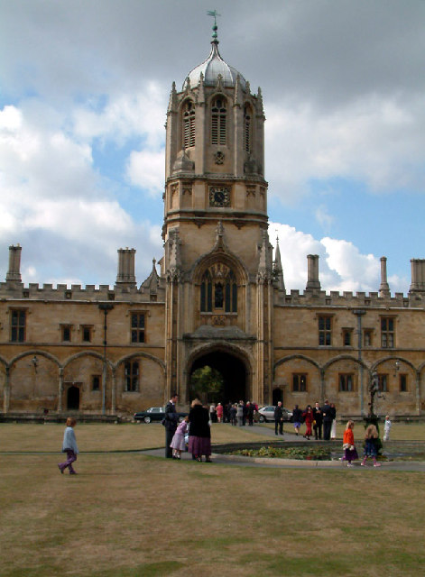 Tom Tower, Christ Church, Oxford