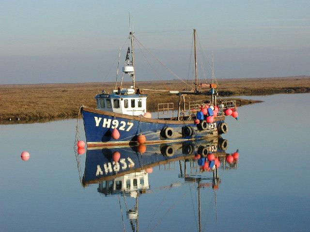 Fishing Boat in Wells Harbour