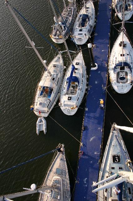 Noss Marina outer Pontoon
