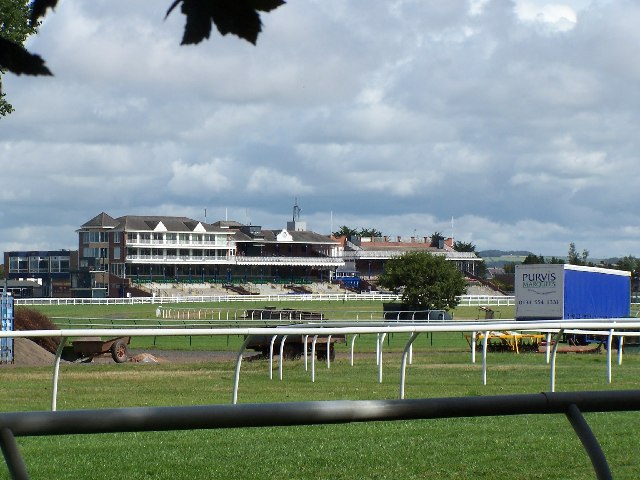 The Eglinton stands, Ayr race course