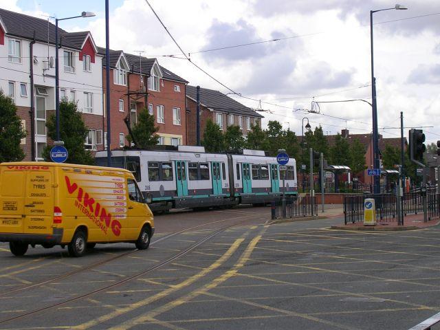 Metrolink at  Weaste, Salford