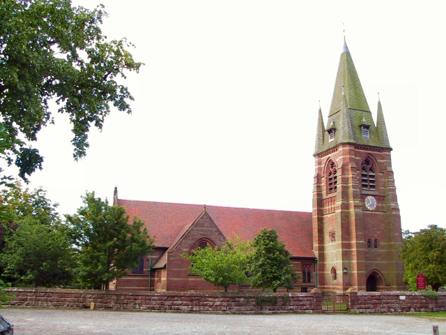 Red Sandstone Church
