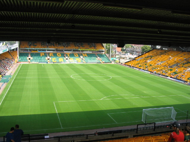 "Norwich City Football Ground ""Carrow Road"""