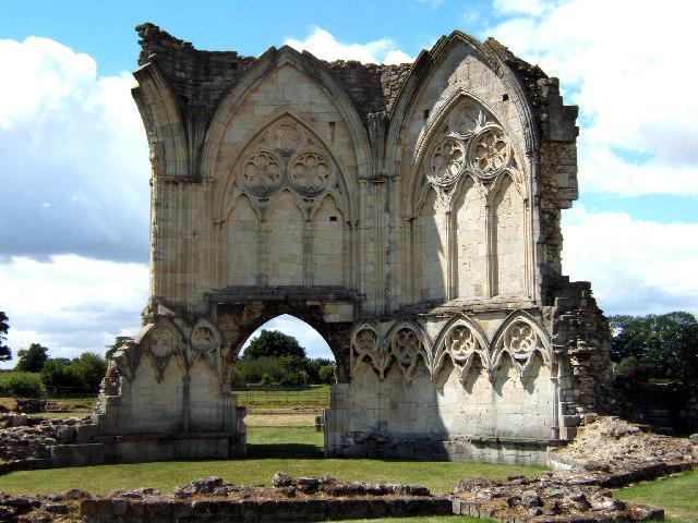 Ruins at Thornton Abbey