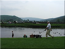 SE0361 : River Wharfe at Burnsall, Y Dales. by Steve Partridge