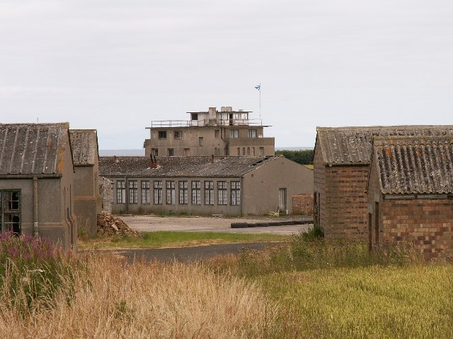 War time buildings on the RNAS Crail airfield