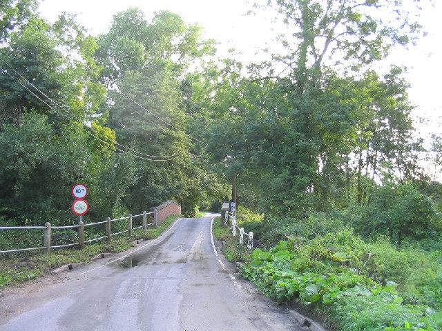 Glevering Bridge, near Wickham Market, Suffolk