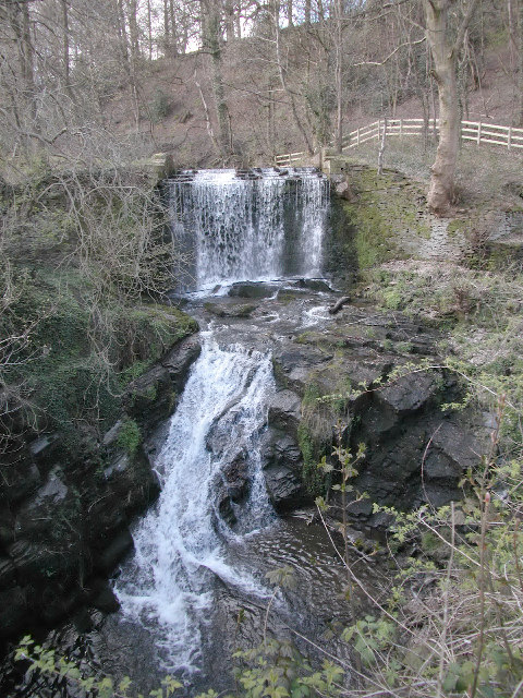 Ingersley Clough Waterfall