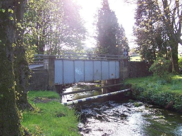 Bridge in Quarriers Village