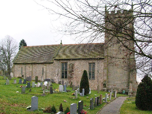 St Andrews Church at Cubley