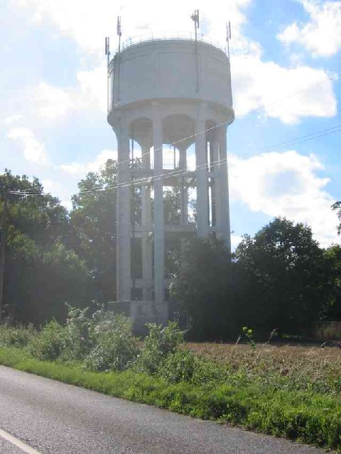 Water Tower at Whitwell