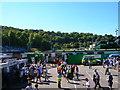 TQ2907 : Matchday at Withdean Stadium by Simon Carey
