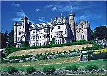 NH7389 : Skibo Castle near Dornoch by Christine Matthews