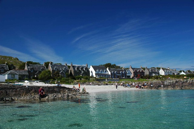 Iona Village from seawards