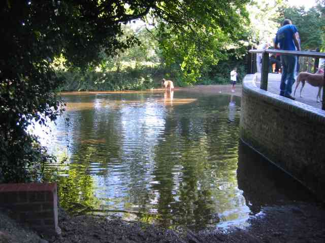 The Ford in Crabtree Lane Batford