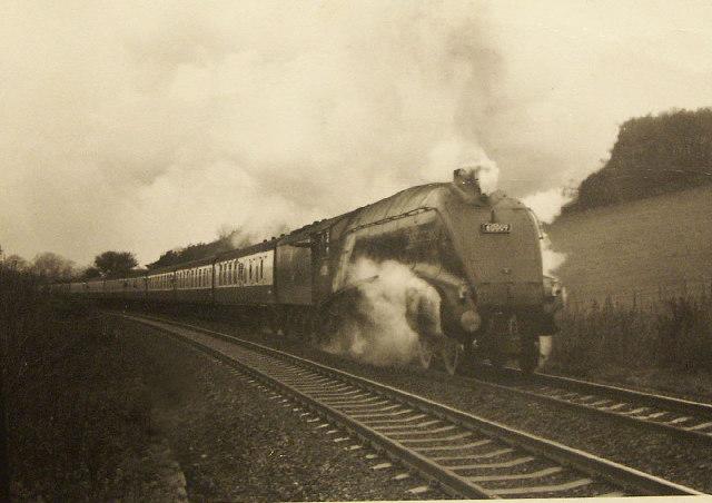 Railway Tracks Half Full
