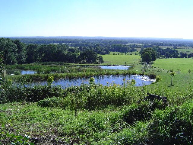 Landscaped farmland