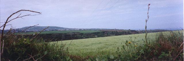 St Agnes Beacon across Trevellas Coombe