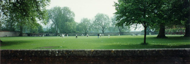Winchester College playing field