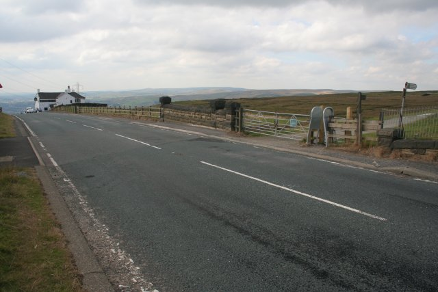 The White House and Pennine Way, A58