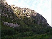 NH1282 : Crags, Dundonnell River by Chris Eilbeck
