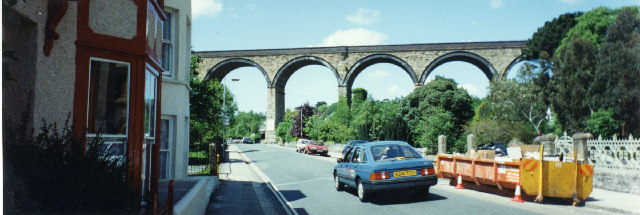 Viaduct over St George's Road, Truro