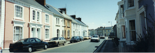 St George's Road, Truro, looking southward