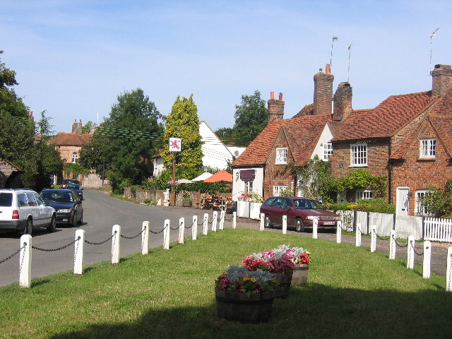 The Green and Red Lion, Little Missenden
