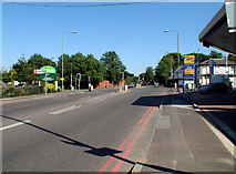 TQ4265 : A232 Croydon Road BR2 junction with A233 by Philip Talmage